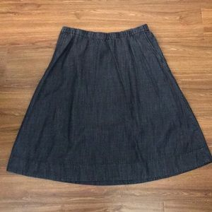 Eileen Fisher skirt with pockets